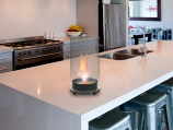 Eco-Feu Romeo Gloss Black Bio-Ethanol Tabletop Fireplace