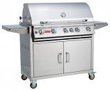 38 Inch 5-Burner Bull BBQ Outdoor Brahma Stainless Steel Natural Gas Grill