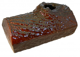 Log Steamer Brown Majolica