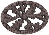 Black Matte Acorn Trivet
