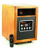 Dr Infrared DR968 Heater Quartz + PTC Infrared Portable Space Heater