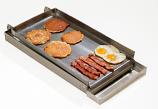 Master Chef Lift-Off 2-Burner Commercial Add-On Griddle