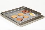 Master Chef Lift-Off 4-Burner Commercial Add-On Griddle