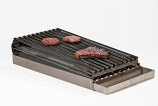 Master Chef Lift-Off 2-Burner Commercial Add-On Broiler