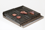 Master Chef Lift-Off 4-Burner Commercial Add-On Broiler