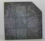 "NY Hearth 40"" x 40"" Brick Silver Slate Hearth Pad"