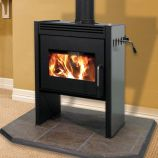 Chinook 20 Stove with Straight Sides & Black Door