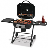 Deluxe Outdoor Charcoal Grill by Blue Rhino - Holds 27 Burgers