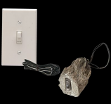 Wired Wall Switch with 15ft Wire and Wall Plate