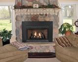 Vent-Free Thermostat 28000 BTU Fireplace Insert - Liquid Propane