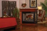 Premium Direct Vent Peninsula 36 Fireplace DVP36PP32EN - Natural Gas