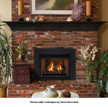 Direct Vent Fireplace Insert DV35IN33LP - Liquid Propane