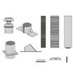 DV Horizontal Round Flexible Vent Kit