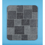 "Gray Tile Slate Metal Stove Board, 32"" x 42"""