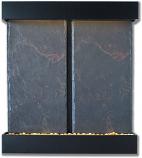 Double Nojoqui Falls Black Onyx NSI Lightweight Slate Fountain
