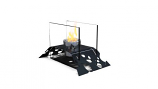 Decorpro D10008 Black Leaf Tabletop Fireburner