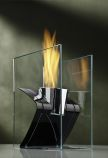 Decorpro D10010 Black Zed Tabletop Fireburner