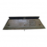 "28.5"" X 7"" Replacement Steel Damper Plate"