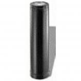 "Adjustable Black Gas Vent Pipe - 7"""