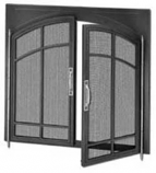 """Aged Copper Common Chassis Cabinet Screen Door - 36"""""""