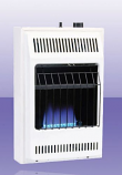 Natural Gas Manual 10K Small Blue Flame Heater