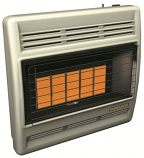 Natural Gas Manual 30K Infrared Five Plaque Heater