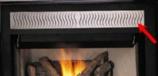 "Filigree Panel Kit for 36"" Gas Fireplaces - Platinum"