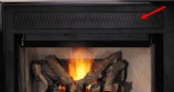 """Black Filigree Panel Kit for Direct Vent Gas Fireplaces - 36"""""""