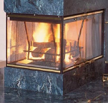 "Peninsula 36"" B-Vent Fireplace - Propane Gas"