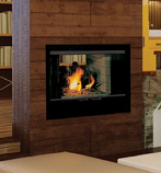 "B-Vent 36"" See-Thru Fireplace - Propane Gas"