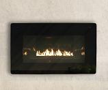 Loft Series Vent-Free In-Wall Millivolt Control LP Fireplace, 10k BTU