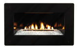 Loft Series Vent-Free In-Wall IP Control NG Fireplace, 20k BTU