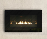 Loft Series Vent-Free In-Wall Millivolt Control LP Fireplace, 28k BTU