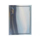 #304 Stainless Steel 17 x 24 Single Access Vertical Door
