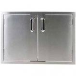 """#304 Stainless Steel 27"""" Double Access Door"""