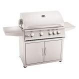 "32"" Sizzler Stainless Steel Gas Grill Cart - Cart Only"