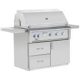"""42"""" Alturi Stainless Steel Gas Grill Cart - Cart Only"""
