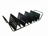 Nonstick Baked Grill Rack - Holds Three Taco Shells