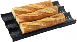 3-Loaf Nonstick Perforated Baguette French Bread Pan