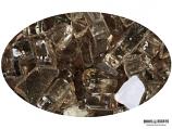 "Boone Hearth 10 LB Bag of 1/4"" Bronze Reflective Fire Glass"