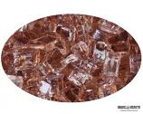 """Boone Hearth 10 LB Bag of 1/4"""" Copper Fire Glass"""