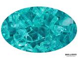 """Boone Hearth 10 LB Bag of 1/4"""" Caribbean Blue Fire Glass"""