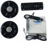 AM/FM/CD Player & 2 Speakers w/ Amp
