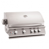 """Summerset Grills 32"""" Sizzler Stainless Steel Propane Gas Grill"""
