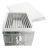 15,000 BTU Infrared Stainless Steel Searing Side Burner for Natural Gas Grills