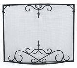 Bostonian Curved Fire Screen - Large