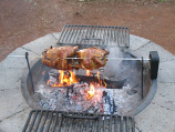 Grizzly Spit Portable Rotisserie