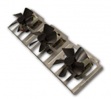 Triple Fan Blower with Magnetic Attachment - 90 CFM