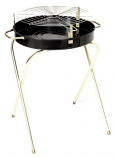"""Marsh Allen Folding Round Charcoal Grill - 18"""""""