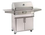 Legacy 22SC01C61 Stand Alone Charcoal Grill with Smoker Oven/Hood
